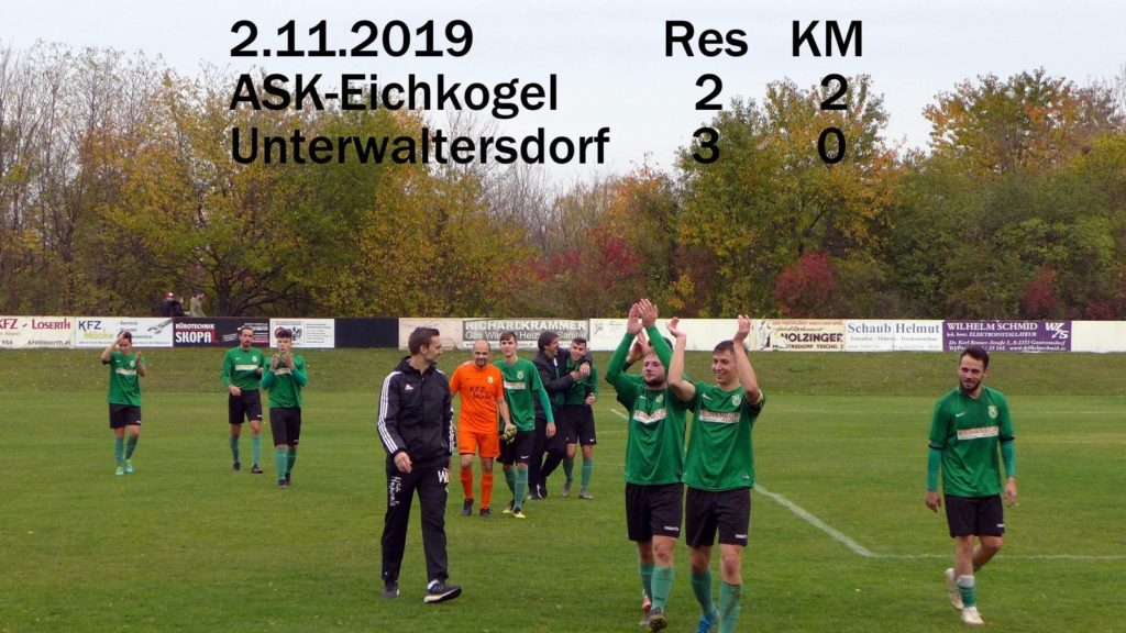 2:0 Heimsieg gegen Unterwaltersdorf! Res (2:3)