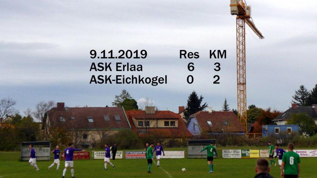Unnötige 3:2 Niederlage in Erlaa (Res 6:0)