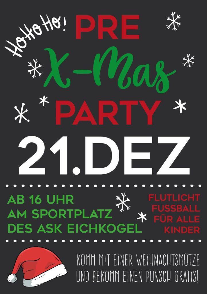 Pre X-Mas Party