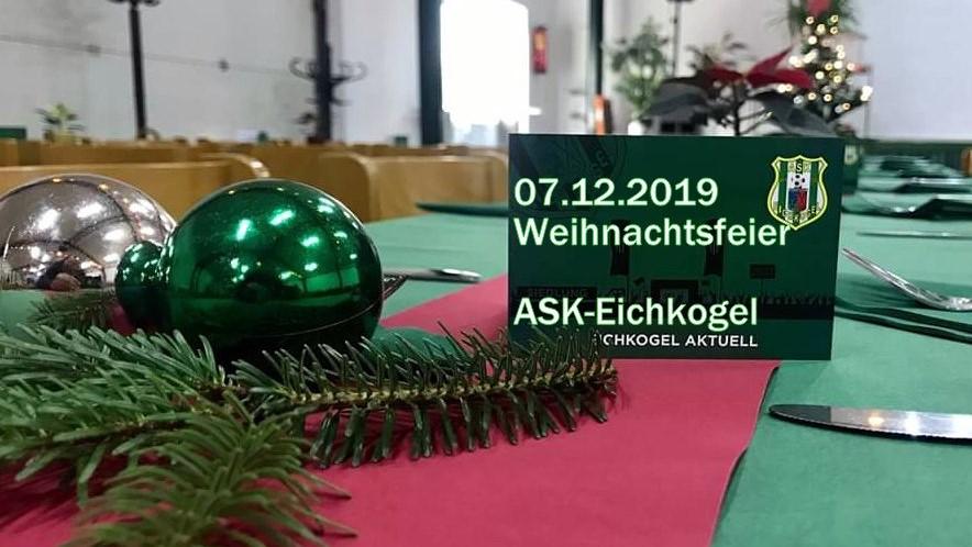 Weihnachtsfeier in der Siedlerhalle