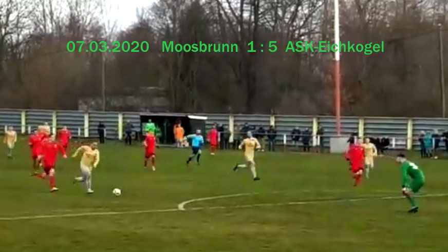 Klarer Sieg in Moosbrunn 1:5!