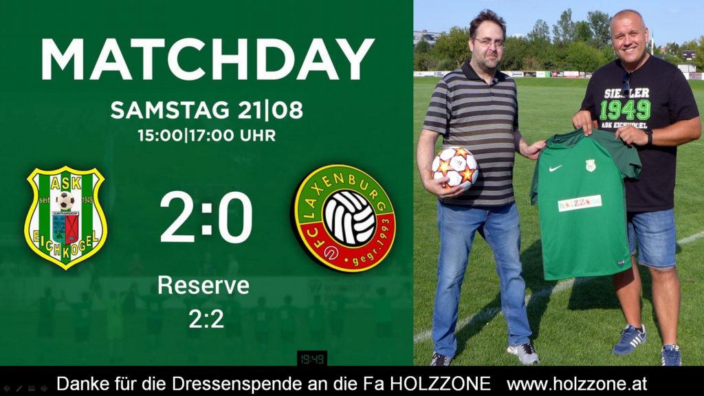 Gute Leistung im Derby gegen Laxenburg! KM 2:0 – RES 2:2