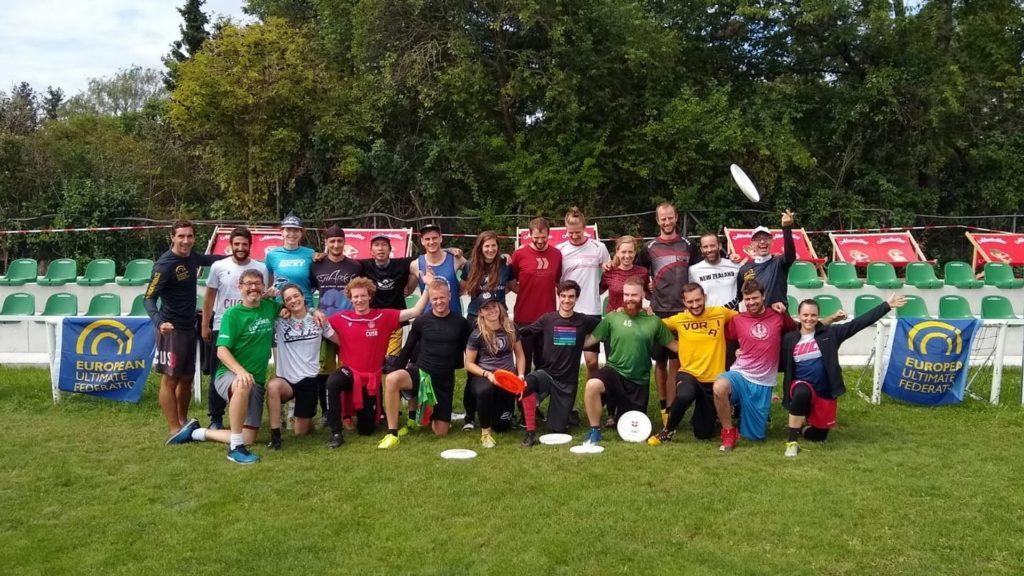 Internationale Frisbee Trainerfortbildung